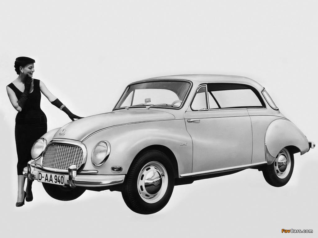 DKW 3=6 Sonderklasse Coupé (F93) 1955–59 pictures (1024 x 768)