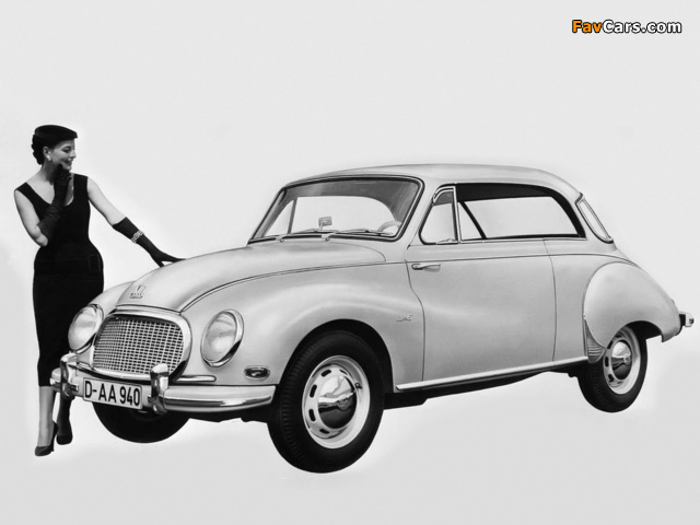 DKW 3=6 Sonderklasse Coupé (F93) 1955–59 pictures (640 x 480)