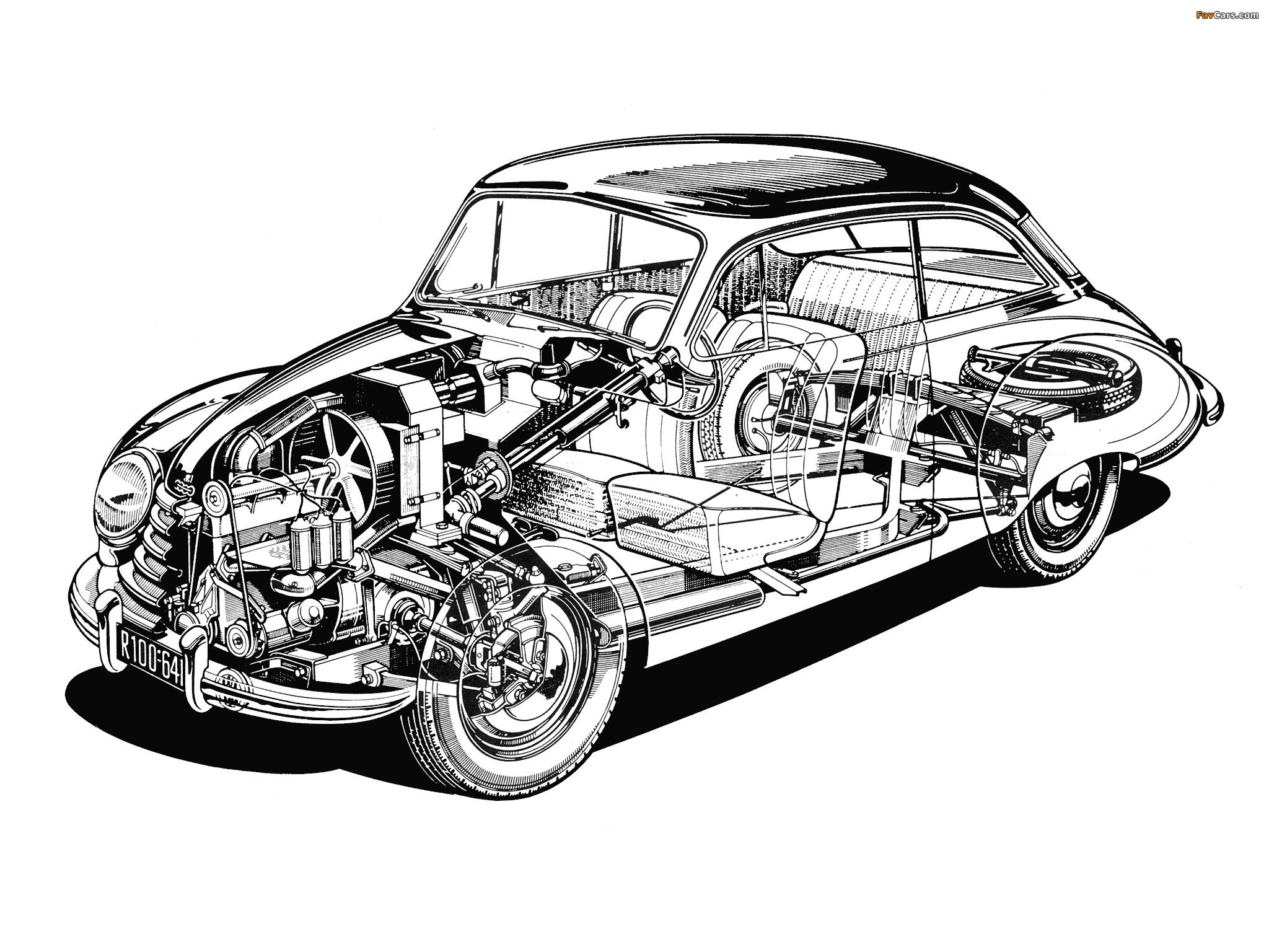 Images of DKW 3=6 Sonderklasse Limousine Spezial (F91) 1953–55 (2048 x 1536)