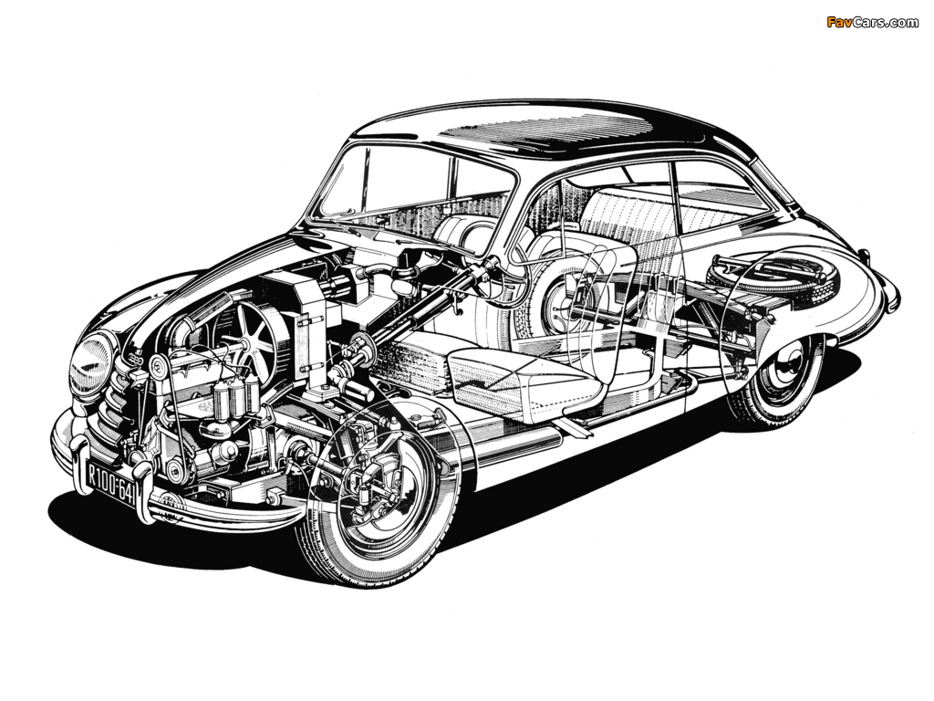 Images of DKW 3=6 Sonderklasse Limousine Spezial (F91) 1953–55 (1024 x 768)