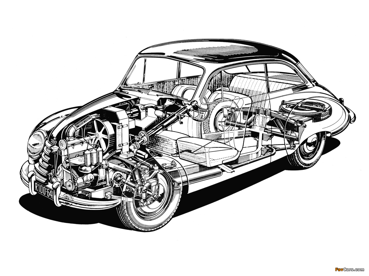 Images of DKW 3=6 Sonderklasse Limousine Spezial (F91) 1953–55 (1280 x 960)