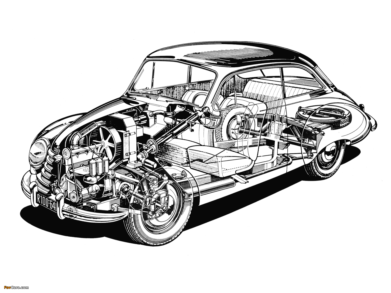 Images of DKW 3=6 Sonderklasse Limousine Spezial (F91) 1953–55 (1600 x 1200)