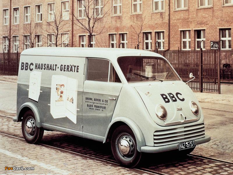 Pictures of DKW 3=6 F800/3 Rapid Delivery Van 1955– (800 x 600)