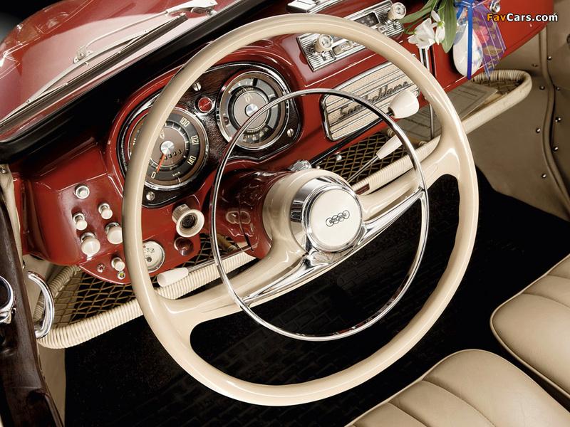 DKW 3=6 Cabrio (F93) 1955–59 wallpapers (800 x 600)