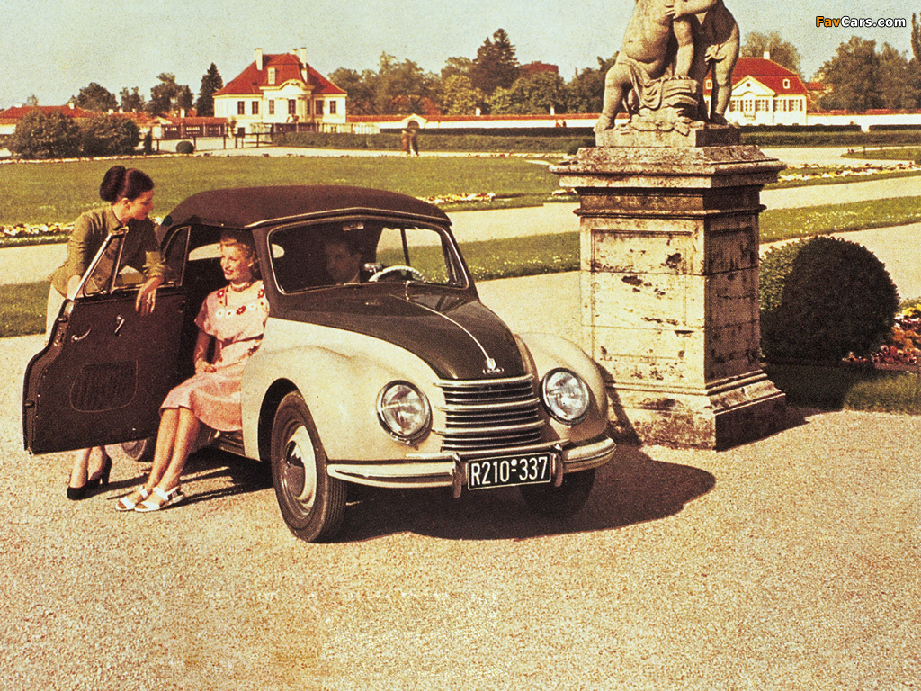 DKW F89 Cabriolet 1950–54 wallpapers (1024 x 768)