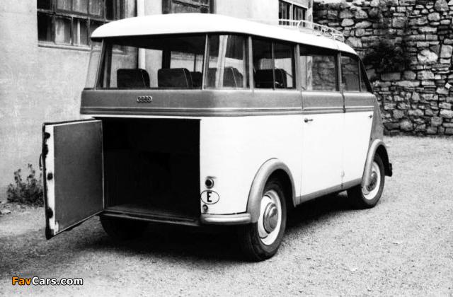 DKW Schnellaster Bus (F89L) 1952–54 wallpapers (640 x 420)