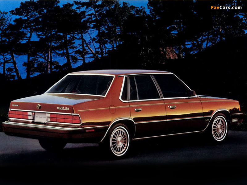 Images of Dodge 600 1986–88 (800 x 600)