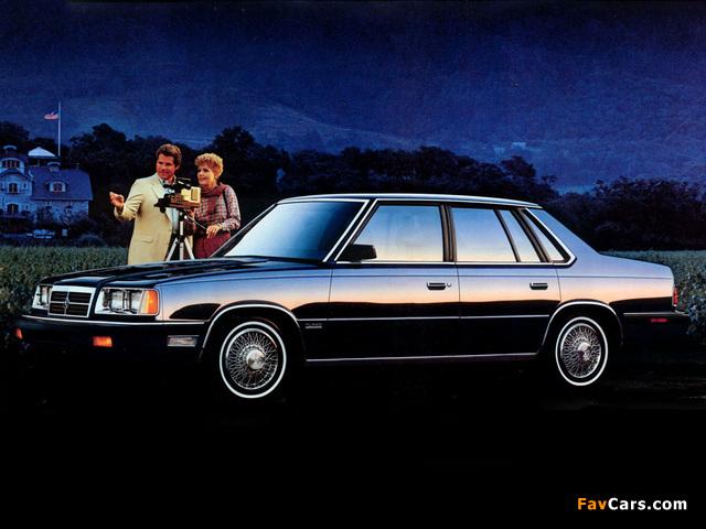 Photos of Dodge 600 1986–88 (640 x 480)
