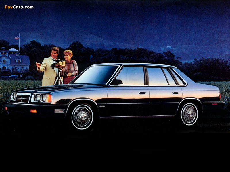 Photos of Dodge 600 1986–88 (800 x 600)