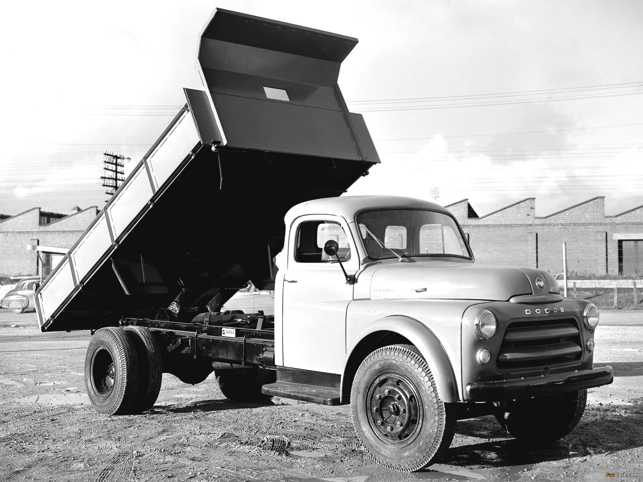 Photos of Dodge 8-65 AD Dump Truck 1955–58 (2048 x 1536)