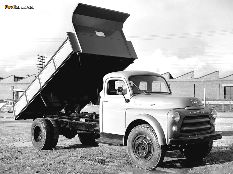 Photos of Dodge 8-65 AD Dump Truck 1955–58 (800 x 600)