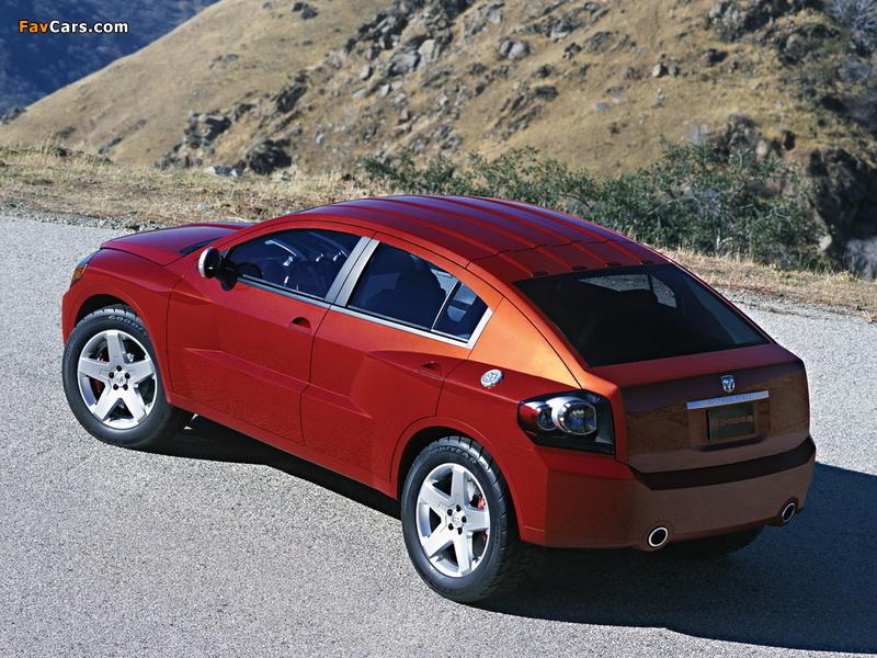Dodge Avenger Concept 2003 photos (800 x 600)