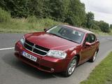 Dodge Avenger UK-spec (JS) 2007–09 images
