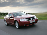 Dodge Avenger UK-spec (JS) 2007–09 photos