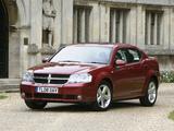Dodge Avenger UK-spec (JS) 2007–09 photos