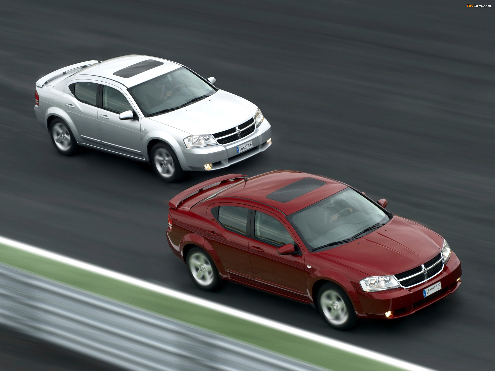 Dodge Avenger 2007–10 pictures (2048 x 1536)