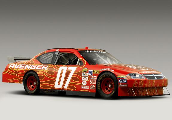 Dodge Avenger NASCAR Nextel Cup Series Race Car JS 2007 Wallpapers