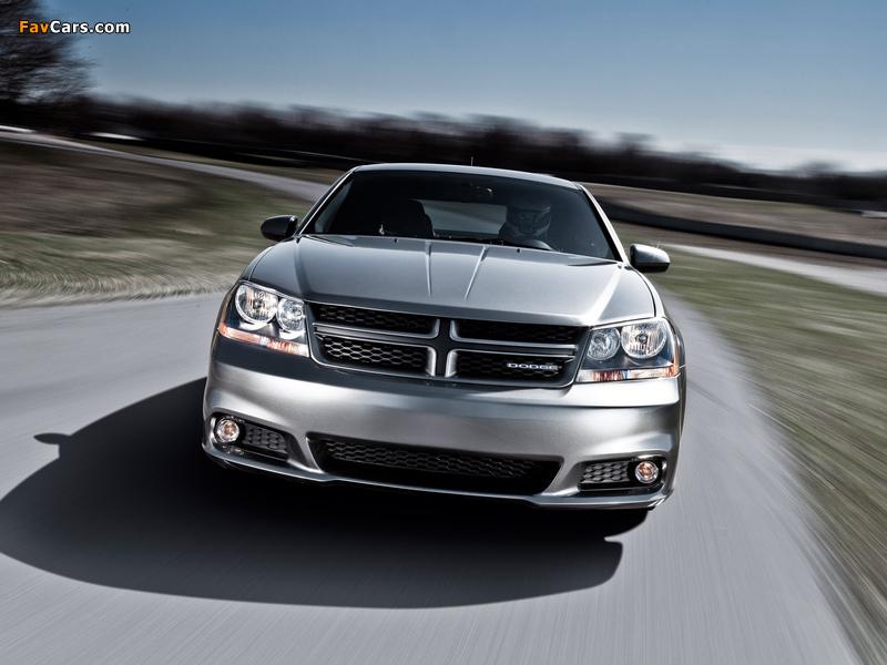 Dodge Avenger R/T (JS) 2011 images (800 x 600)