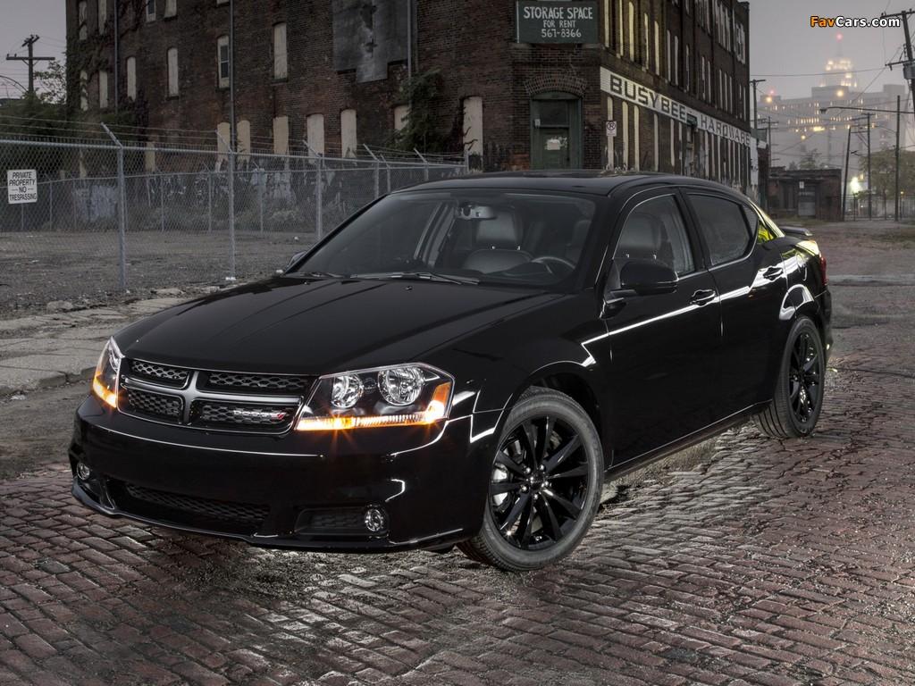 Dodge Avenger Blacktop (JS) 2012 images (1024 x 768)