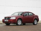 Images of Dodge Avenger UK-spec (JS) 2007–09