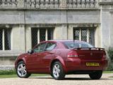 Photos of Dodge Avenger UK-spec (JS) 2007–09