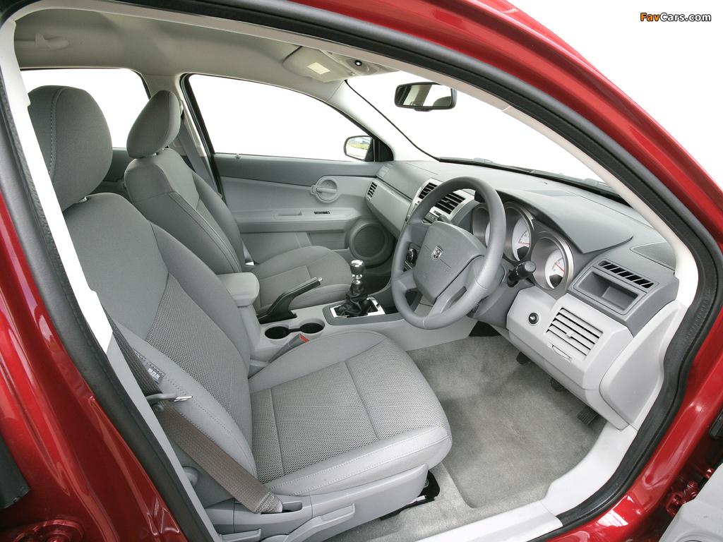 Pictures of Dodge Avenger UK-spec (JS) 2007–09 (1024 x 768)