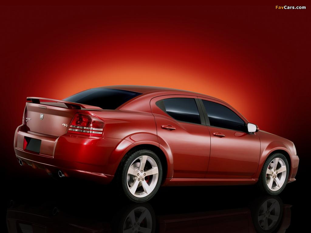 Dodge Avenger Concept 2006 wallpapers (1024 x 768)
