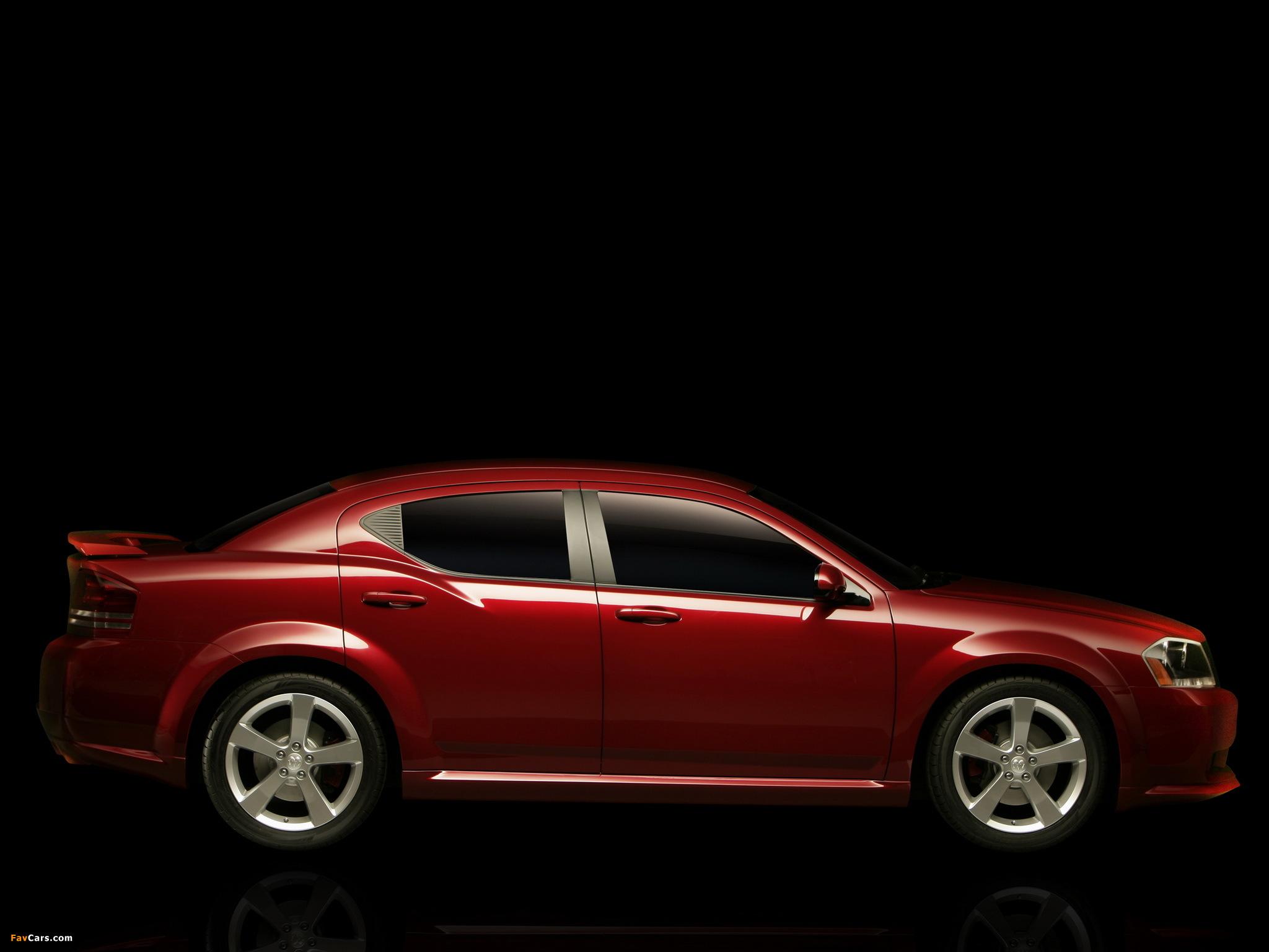 Dodge Avenger Concept 2006 wallpapers (2048 x 1536)