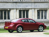 Dodge Avenger UK-spec (JS) 2007–09 wallpapers