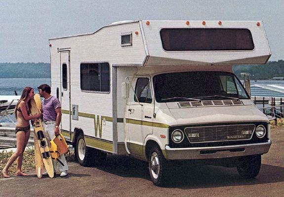 Dodge B Series >> Pictures of Winnebago Minnie Winnie (B300) 1973–74