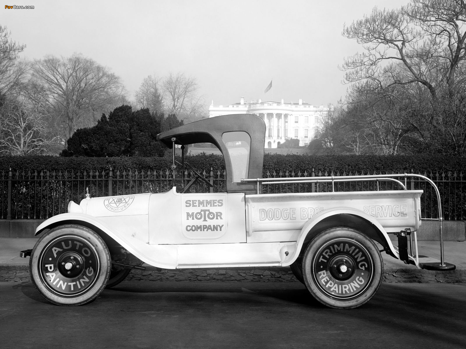 Images of Dodge Brothers Pickup 1922 (1600 x 1200)