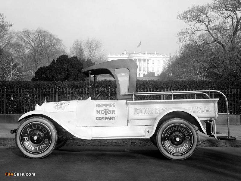 Images of Dodge Brothers Pickup 1922 (800 x 600)