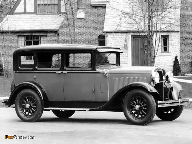 Photos of Dodge Brothers Six De Luxe Sedan 1929 (640 x 480)