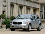 Dodge Caliber UK-spec 2006–09 photos