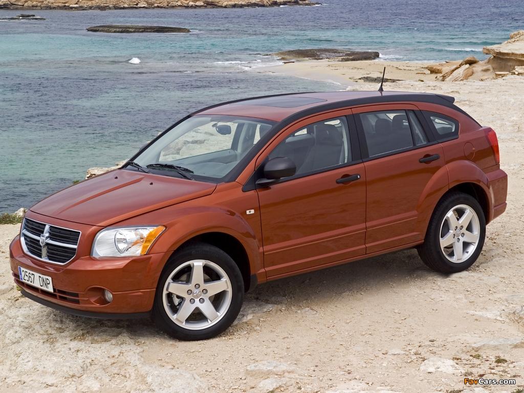 Dodge Caliber 2006–09 photos (1024 x 768)