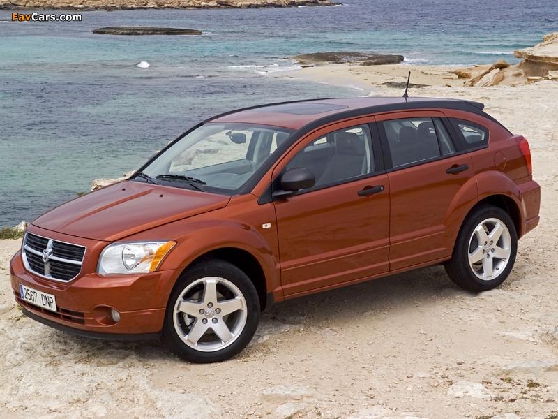 Dodge Caliber 2006–09 photos (800 x 600)