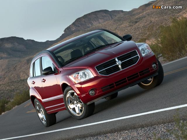 Dodge Caliber 2006–09 pictures (640 x 480)