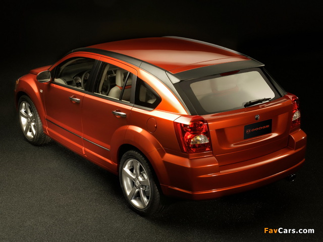 Images of Dodge Caliber Concept 2005 (640 x 480)