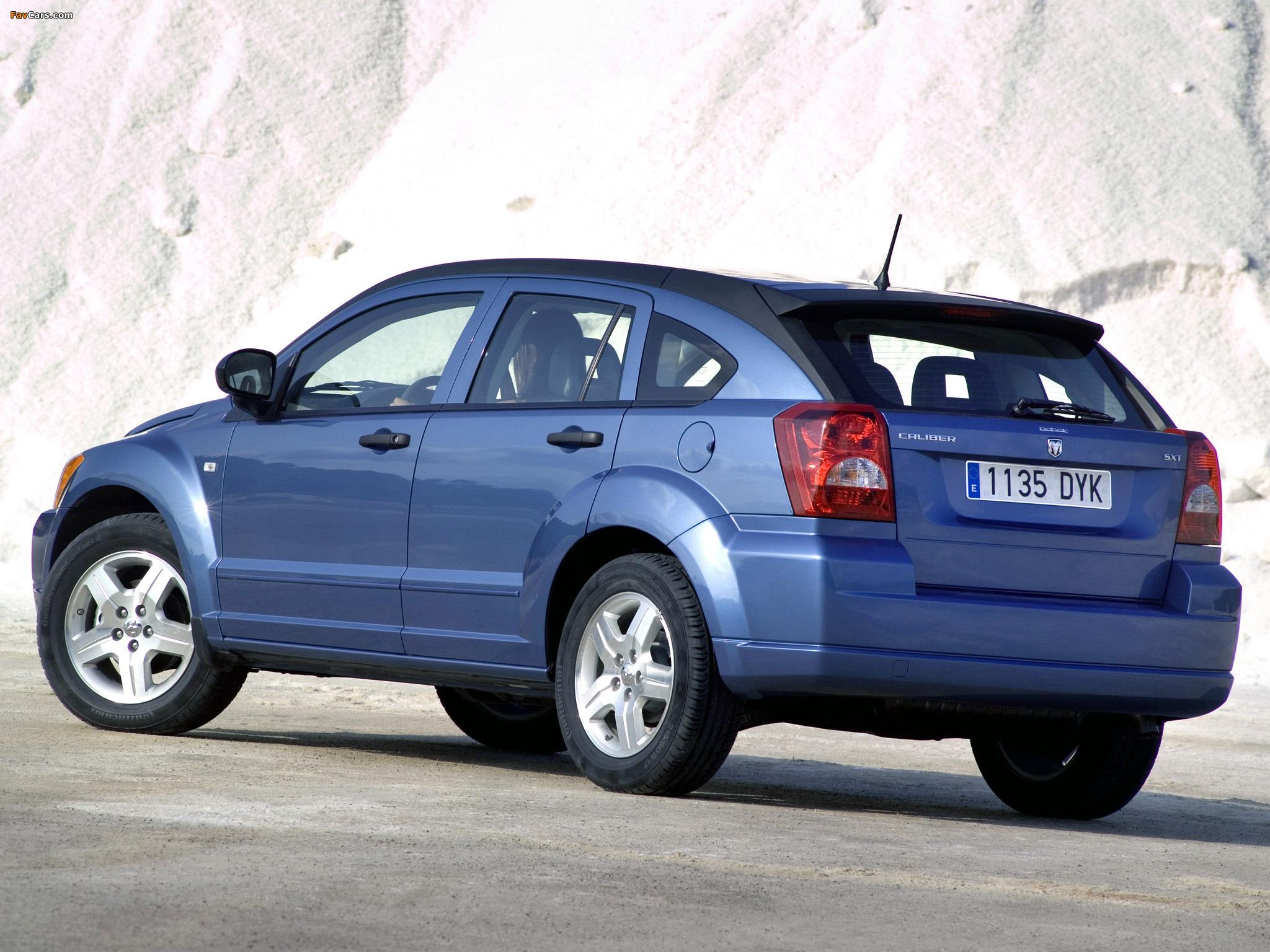 Photos of Dodge Caliber 2006–09 (2048 x 1536)
