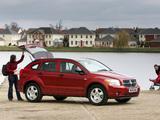 Photos of Dodge Caliber UK-spec 2006–09