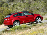 Dodge Caliber 2006–09 wallpapers
