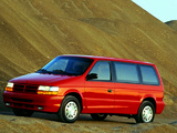 Dodge Caravan 1991–95 photos