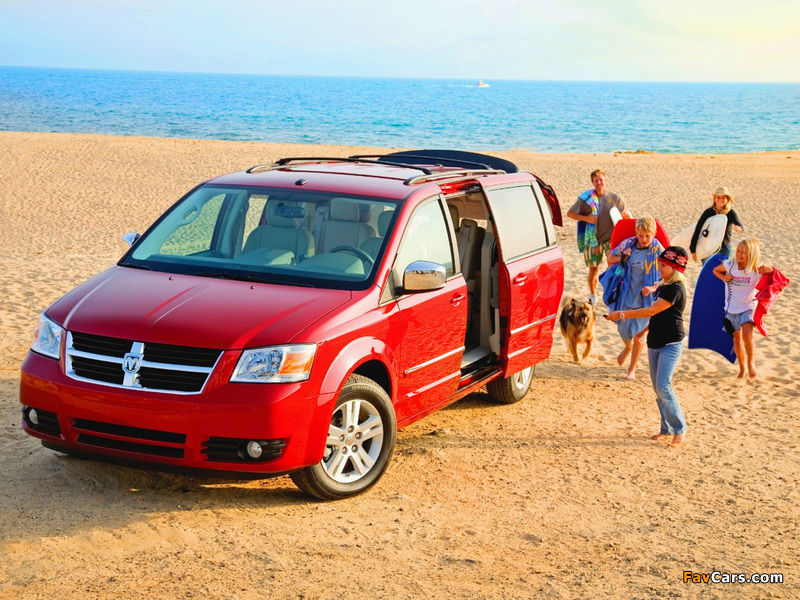 Dodge Grand Caravan 2007–10 wallpapers (800 x 600)