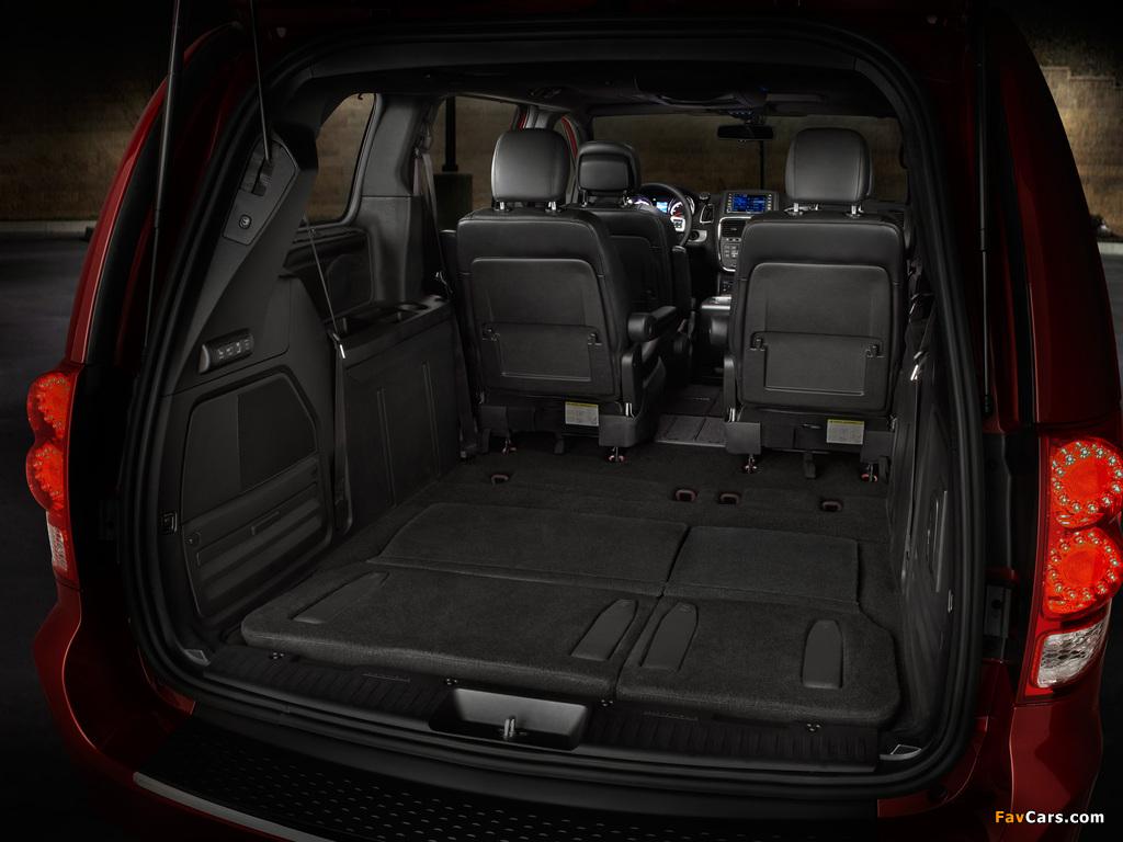 Dodge Grand Caravan R/T 2011 pictures (1024 x 768)