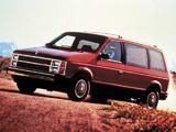 Images of Dodge Caravan 1984–87