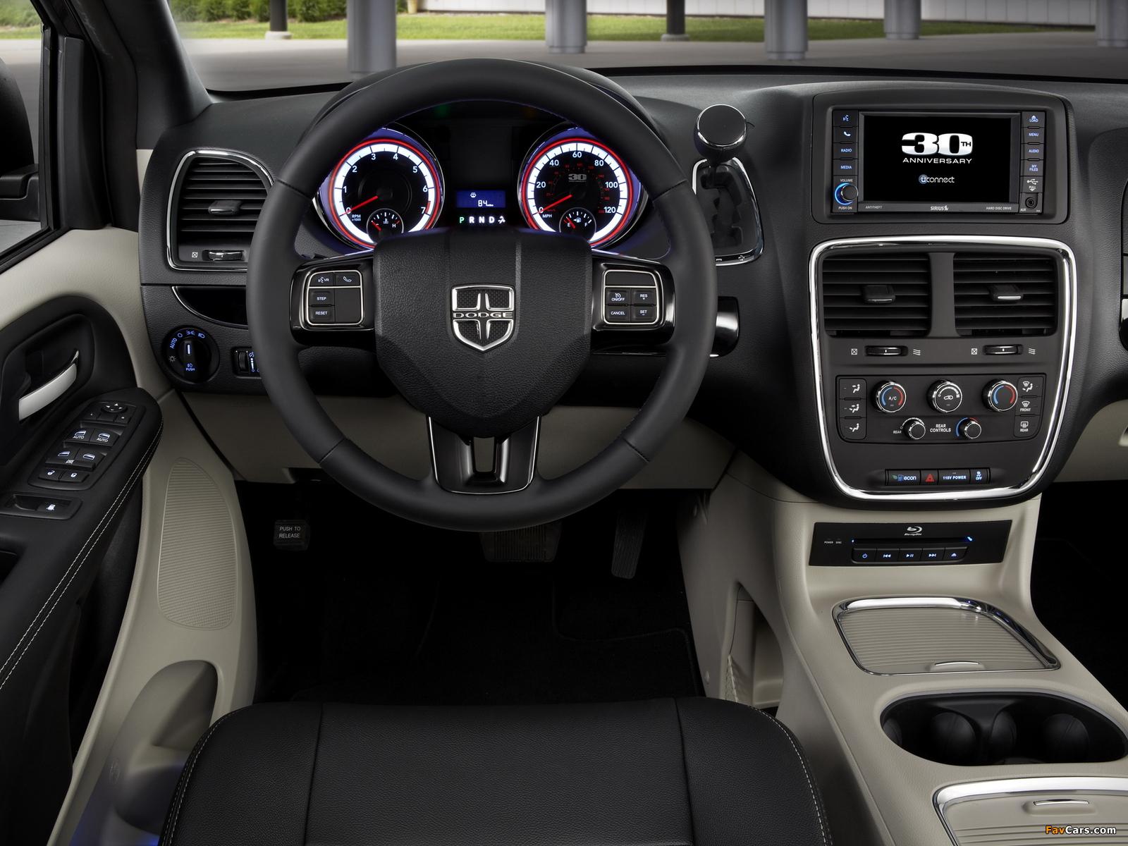 Images of Dodge Grand Caravan 30th Anniversary 2013 (1600 x 1200)