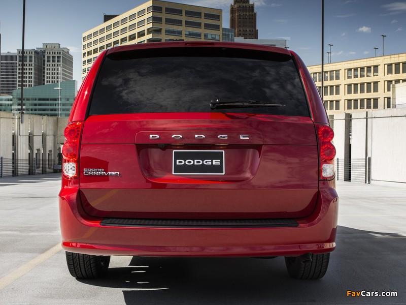 Photos of Dodge Grand Caravan Blacktop 2013 (800 x 600)