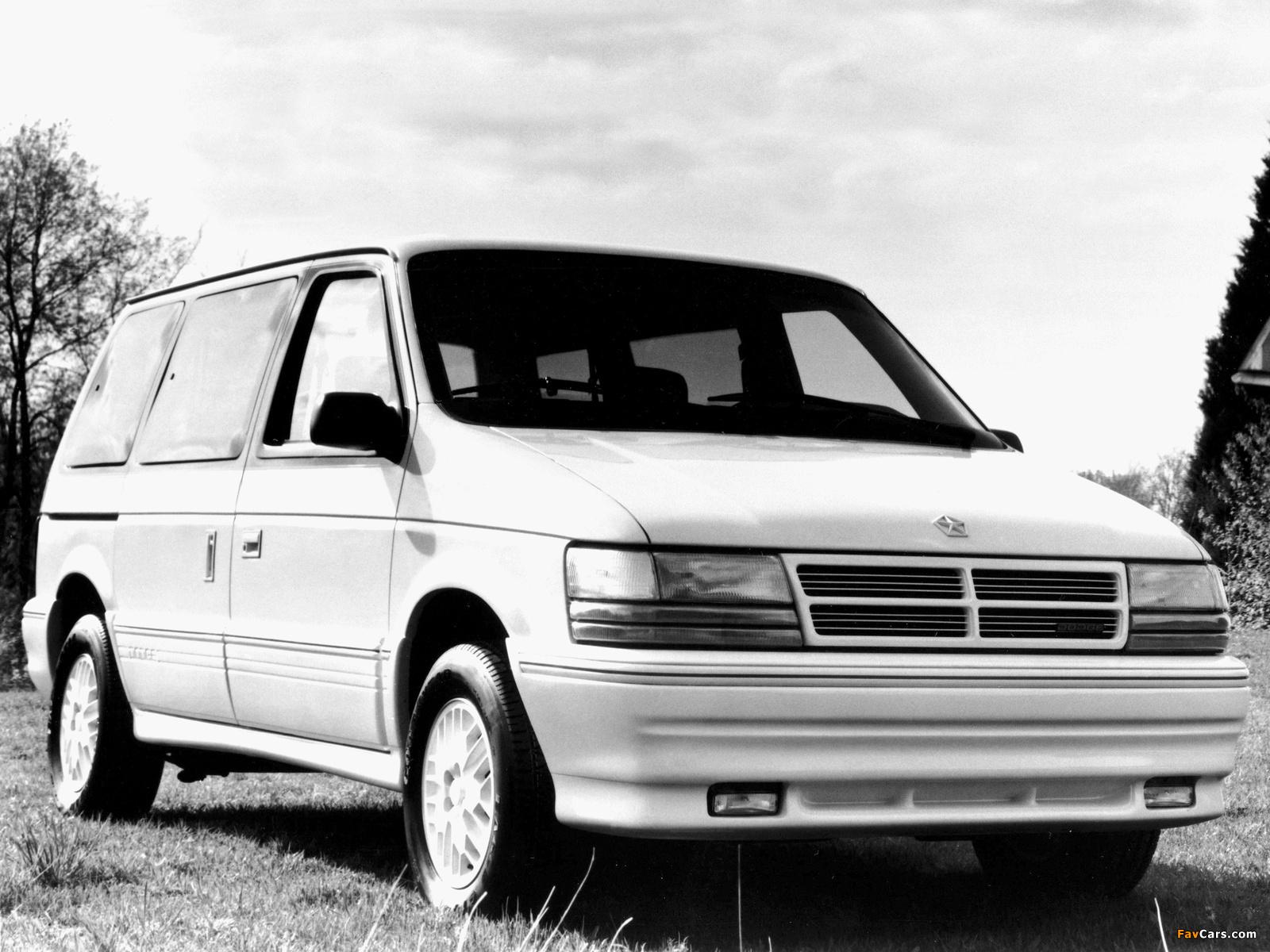 Pictures of Dodge Caravan 1991–95 (1600 x 1200)