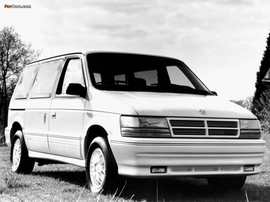 Pictures of Dodge Caravan 1991–95 (1024 x 768)