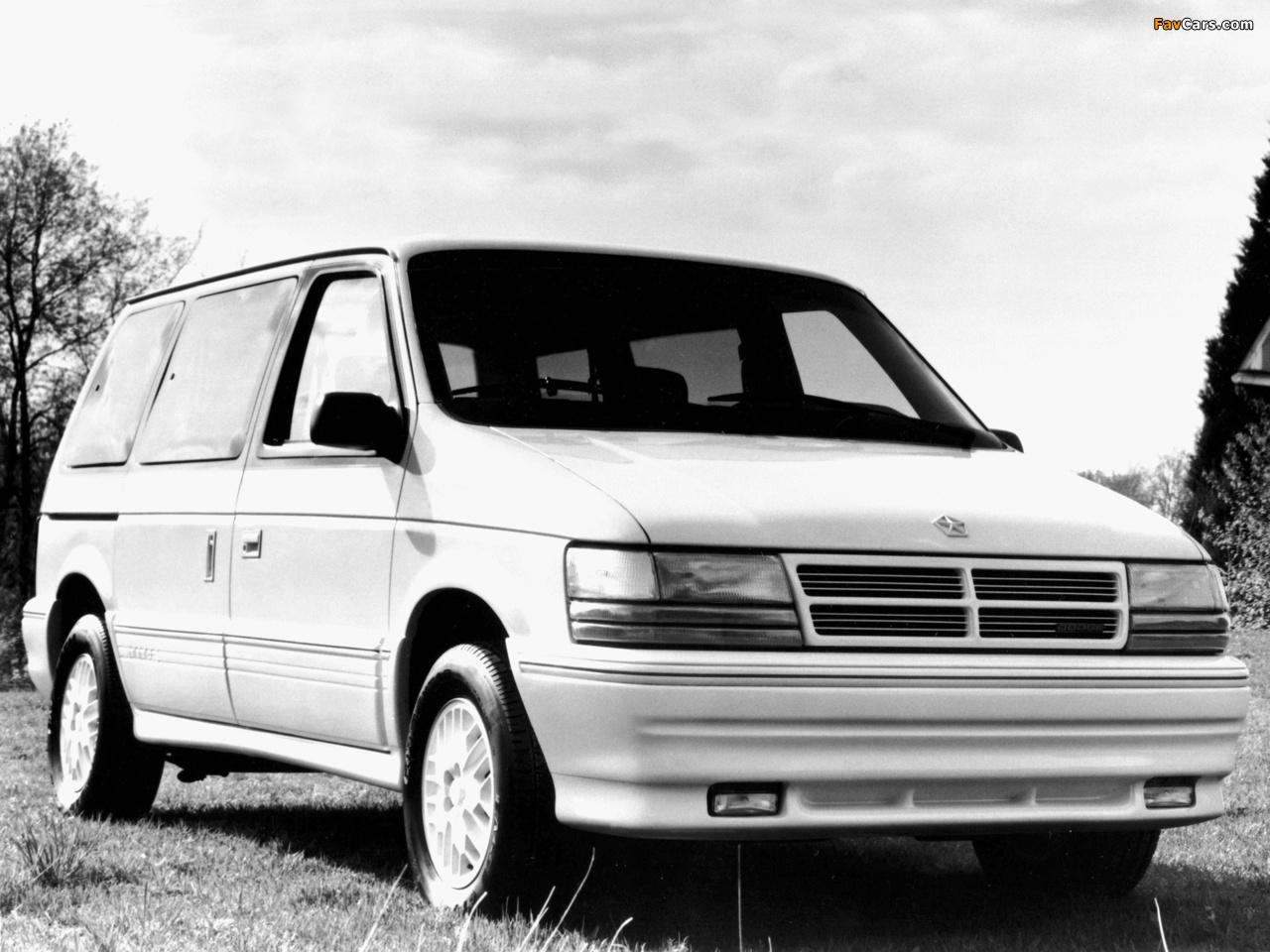 Pictures of Dodge Caravan 1991–95 (1280 x 960)